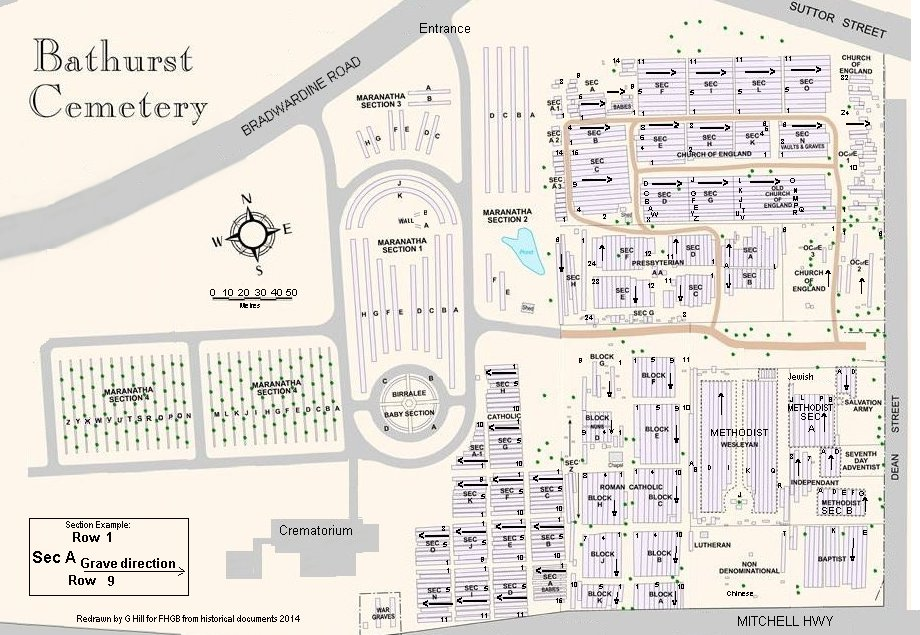 Bathurst Cemetery Index – Bathurst Family History Group Inc on